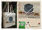 Cotton, Tote, Shopping, Bags, Bag, South Africa, South African, Souvenir Bags - Potjie